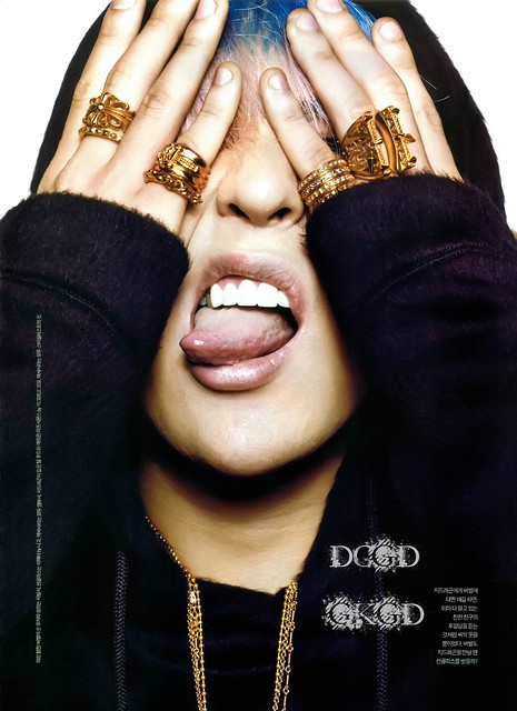 G-Dragon GQ Magazine November 2012 Issue