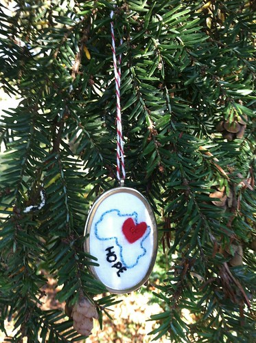 africa/hope ornament
