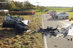Verkehrsunfälle bei Idstein 02.11.12