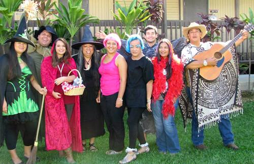 <p>Hawaii Community College's Hawaiian Life Styles program costume contest</p>