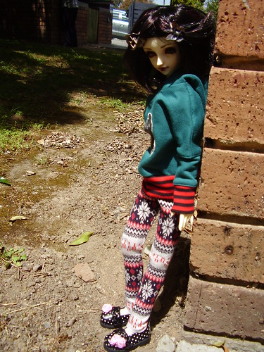 [Big Doll Day] Marin outside 5