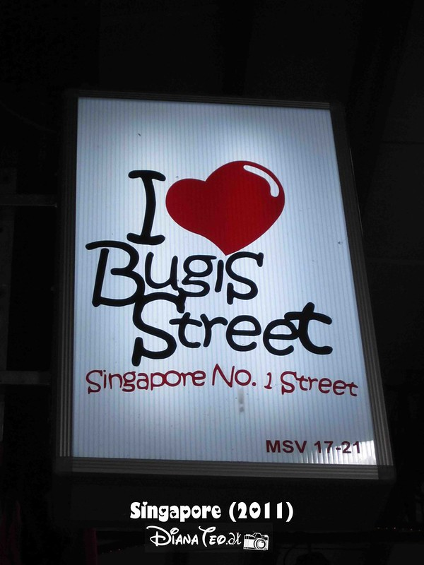Day 3 Singapore - Bugis Street 01