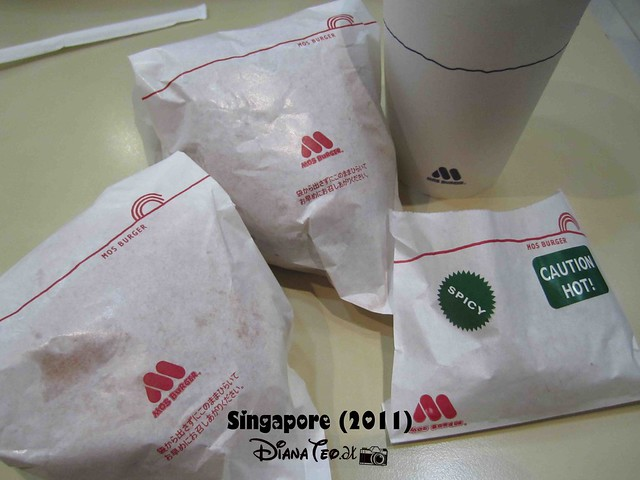 Day 3 Singapore - MOS Burger