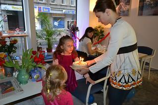 Kerzen ausblasen und etwas wünschen