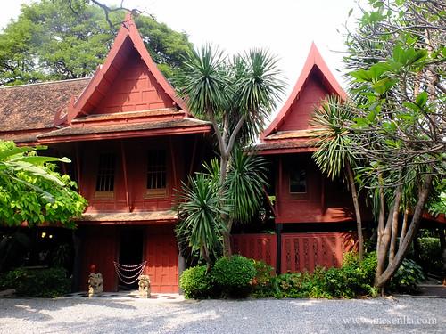 Casa tradicional en Bangkok