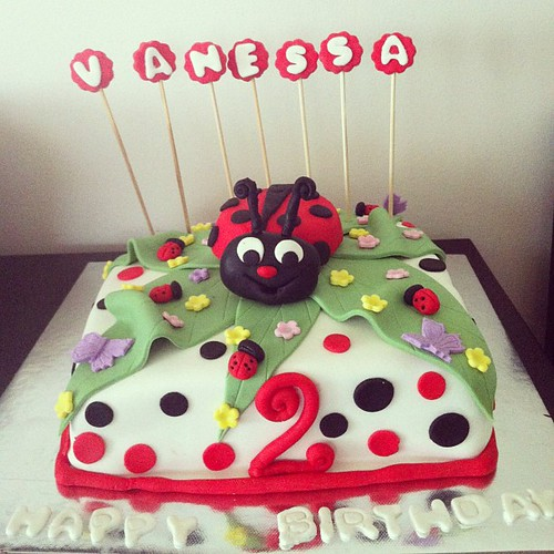 #ladybugcake by l'atelier de ronitte