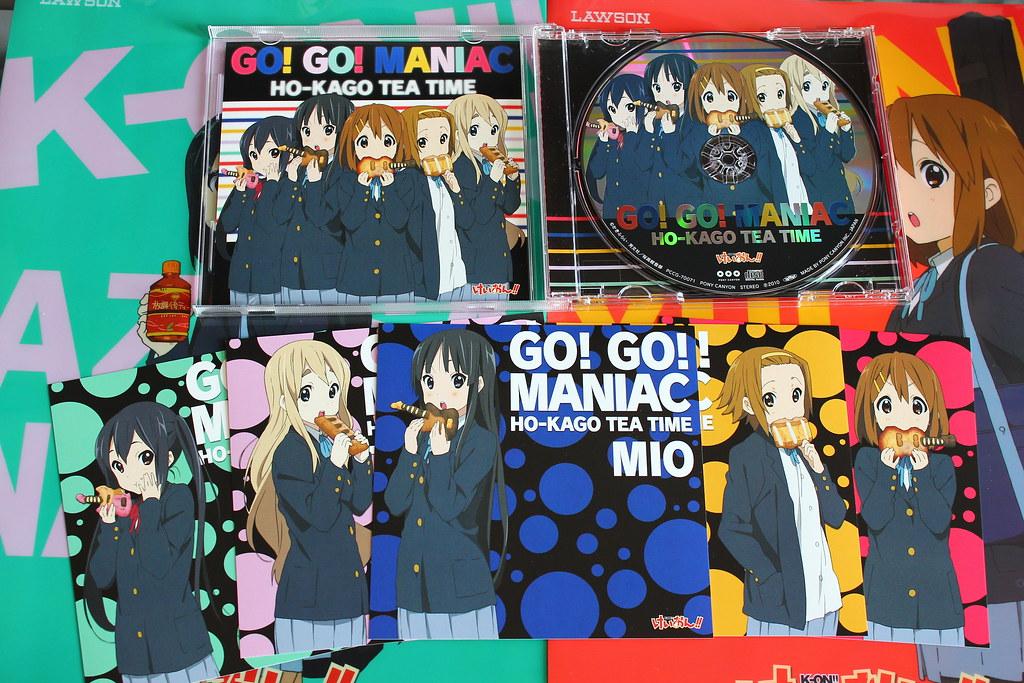 K-ON! CDs