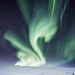 Aurora Borealis / Swarovski logo by oskarpall