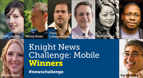 Knight News Challenge: Mobile Winners