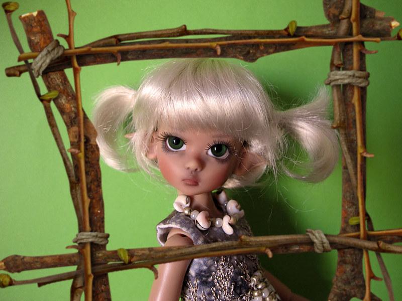 Les tinies Kaye Wiggs d'Inma : Tillie fair, Tillie tan, Millie fair et Lillie Tan elf 8386910777_f715e661c1_c