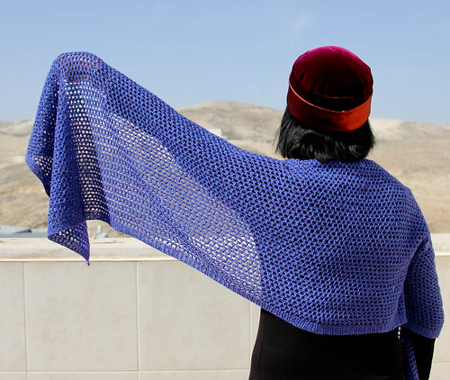 Orenburg Honeycomb Shawl