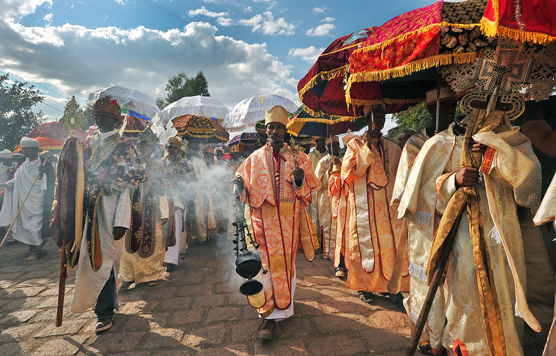 Ethiopian priests and monks