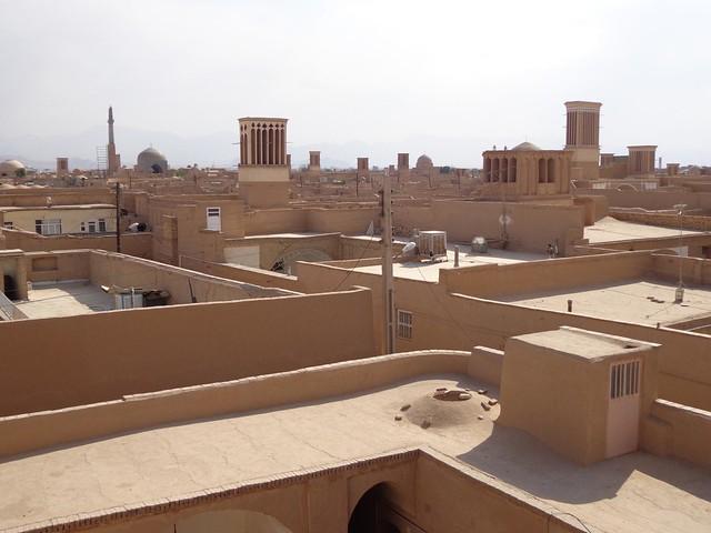 Cidade antiga de Yazd no Irao