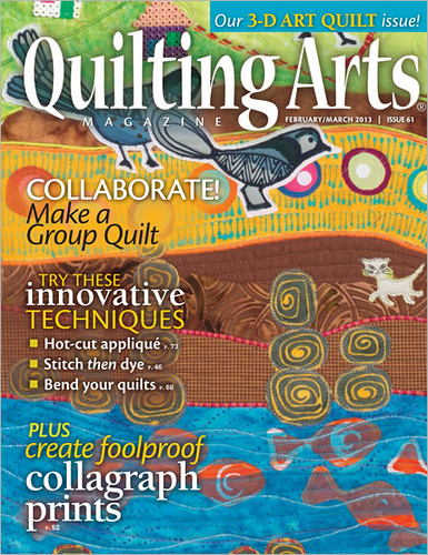 Quilting Arts Magazine, February-March 2013