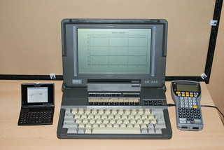 Psion MC600 and Workabout vs Ben NanoNote