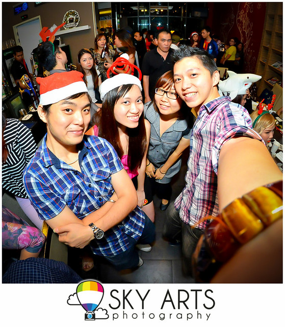 Nuffnang Nomsters Christmas Party @ Artisan Tropicana City Mall