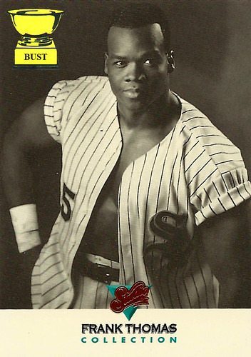 Baseball Card Bust Frank Thomas 1993 Donruss Studio