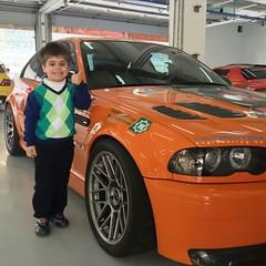 @zinjprince Little Ali repping the 0-60 HPF M3. He sure knows his cars lol @gulfrun. @boneeefko @horsepowerfreak @mfest.