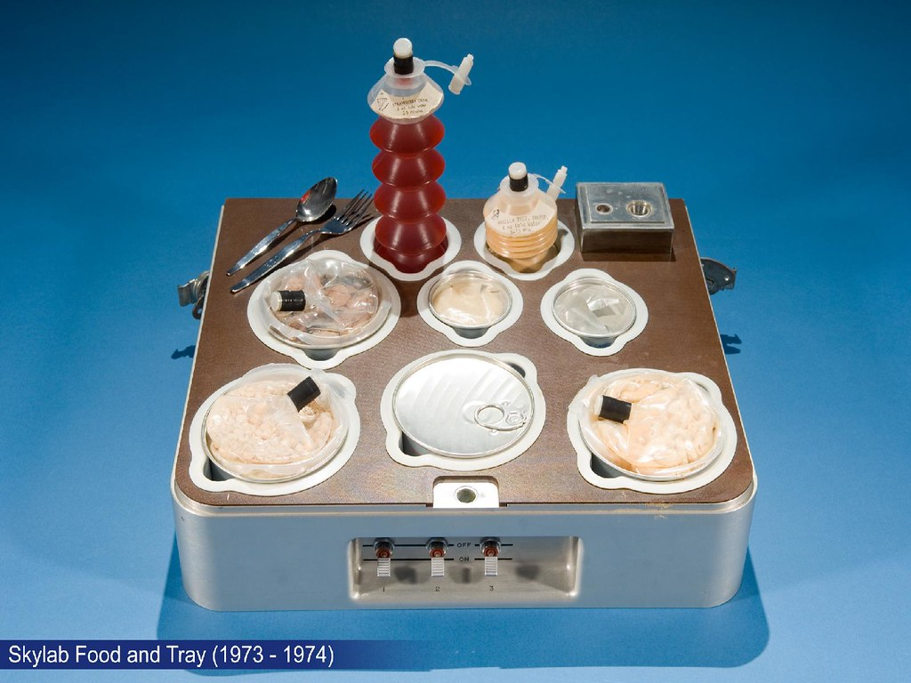 Skylab Food and Tray (1973 - 1974)