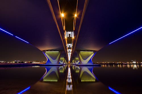 Al Garhoud bridge,Dubai por -Siep-