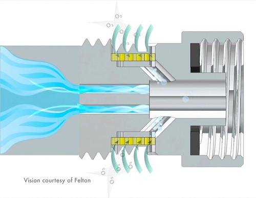 Oxijet - воздушный душ поможет экономить воду