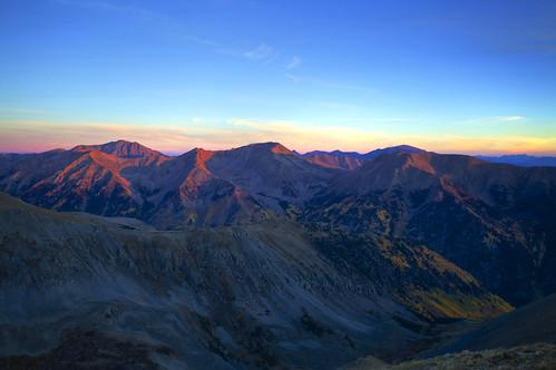 [フリー画像素材] 自然風景, 山, 朝焼け・夕焼け ID:201301312000