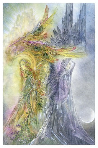 002- Entre las alas- Nature Spirits-Sulamith Wülfing -Via www.dana-mad.ru