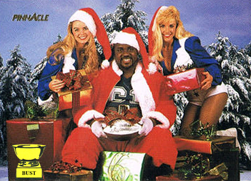 Nate Newton, 1993 Pinnacle NFL Properties (Christmas Day Special ...
