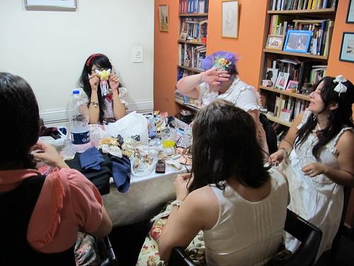 Crafts meet + Slumber party