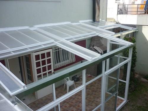 Techos corredizos deslizantes para terrazas arkigrafico - Modelos de toldos para patios ...