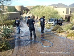 Paver Cleaning Scottsdale, AZ by ACME POWERWASH