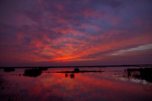 sunset red reflection night clouds cloudy sanluisnationalwildliferefuge canon7d