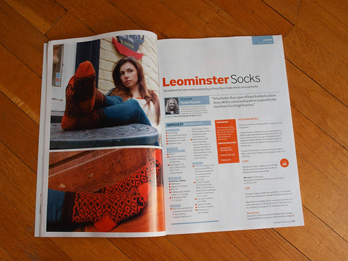 Yarnwise, issue 57 - Leominster Socks