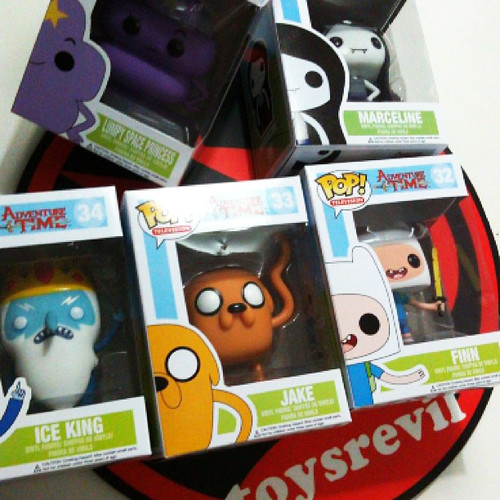 Adventure Time POP Vinyls