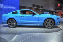 shelby mustang(0.0), automobile(1.0), automotive exterior(1.0), boss 302 mustang(1.0), wheel(1.0), vehicle(1.0), automotive design(1.0), rim(1.0), classic car(1.0), land vehicle(1.0), muscle car(1.0),