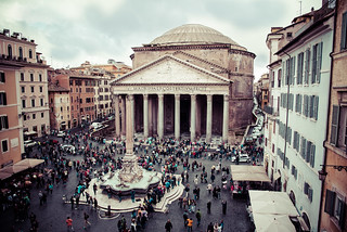 Pantheon の画像. holydays italia lacittàeterna lazio roma rome travel trip vacanze vacation viaggi