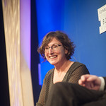 Nina Stibbe | The wildly popular author brings her new book, Paradise Lodge, to the Book Festival © Alan McCredie