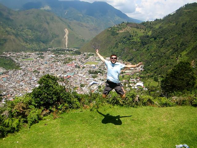 josh in banos ecuador