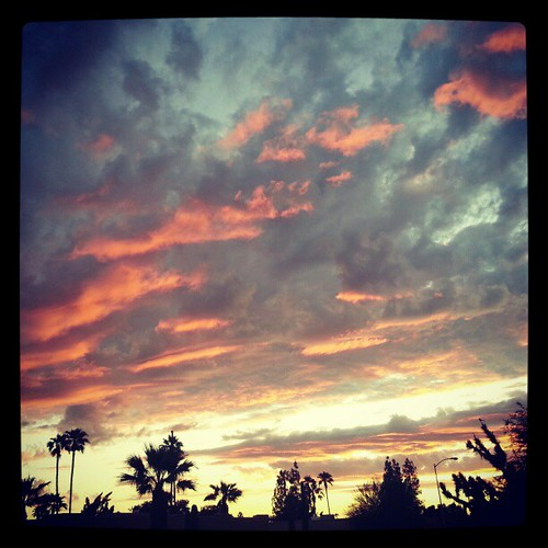 Fire sky #arizona