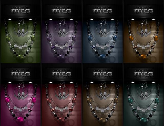 Amorous Fallen Jewelry Set