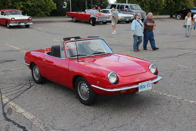 1969 Fiat 850 Spider http://www.flickr.com/photos/carphotosbyrichard/8080784340/
