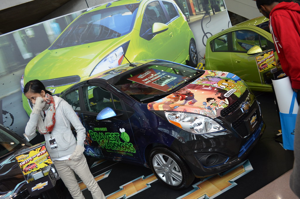 New York Comic Con 2012 Friday cars