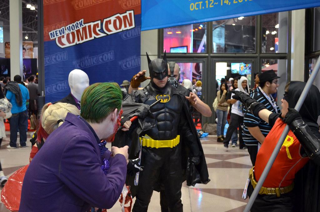 New York Comic Con 2012 Batman Cosplay