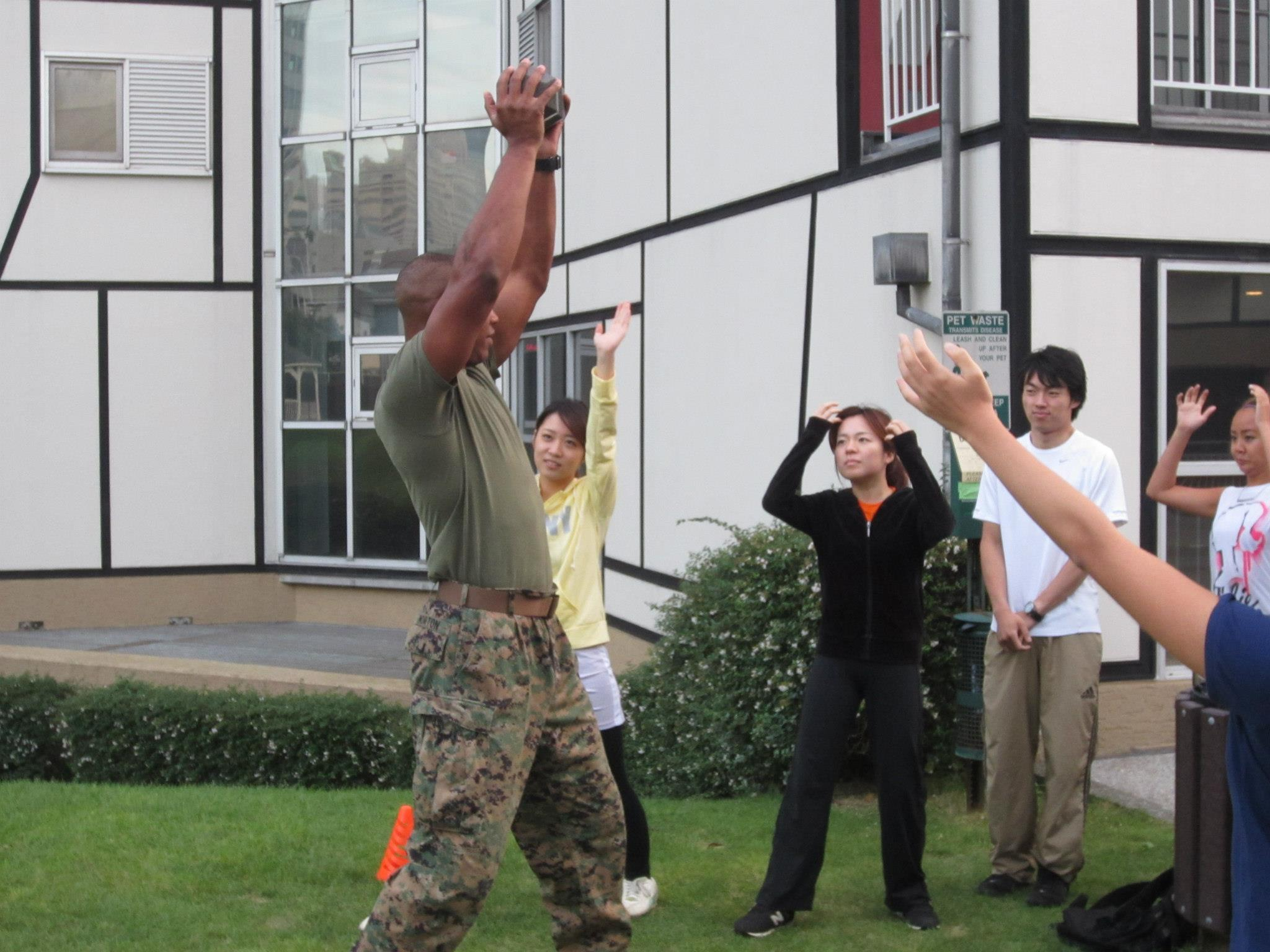 2012/10/8 A Boot Camp with the U.S. Marines: Learn About the Marine