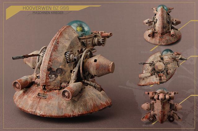 Maschinen Krieger: Hooverwen BZ 900