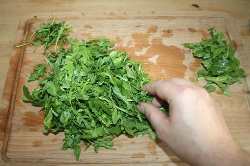 32 - Rucola verlesen / Sort rucola