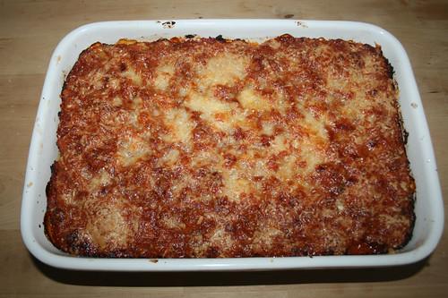 57 - Spinat-Ricotta-Cannelloni - / Spinach ricotta cannelloni - fertig gebacken
