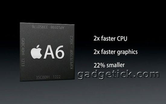 iPad 4 получит процессоры A7