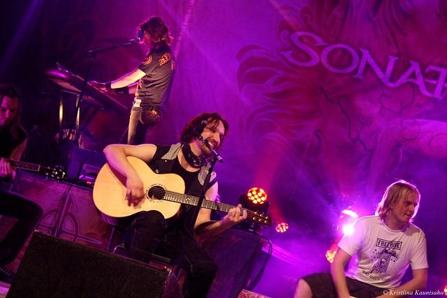 HARD DAYS NIGHT: Sonata Arctica @ Kuopio-halli 12.10.2012
