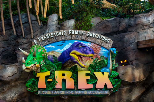 T-REX, A Prehistoric Family Adventure